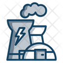 Power Plant Electric Industry Factory Icon