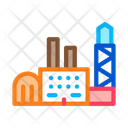 Power Station Factory Icon