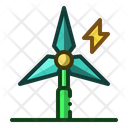 Windmill Eco Power Icon