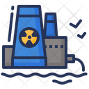 Power Plant Nuclear Icon