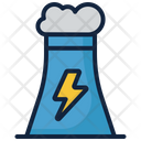 Power Plant Power Station Pollution Icon