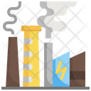 Power Plant Station Nuclear Energy Power Plant Icon