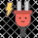 Power Plug Plug Emoji Emoticon Icon