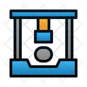 Power Press Process Industry Icon