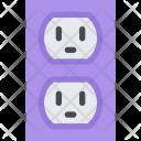 Power Socket Data Icon