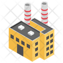 Power Station Power Plant Power House Icon
