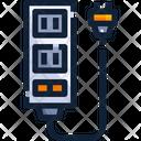 Power Strip Electric Board Multi Holder Icon