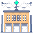 Electrical Substation Power Substation Transformer Icon
