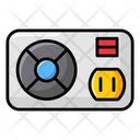 Power Supply Hardware Power Unit Icon