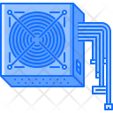 Power Supply Data Icon