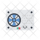 Computer Technology Power Supply Icon