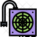 Power Supply Computer Icon