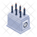 Power Transformer Electric Transformer Electrical Device Icon