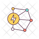 Power Transmission Power Transmission Network Electricity Icon