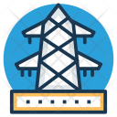 Power Transmission Electric Icon