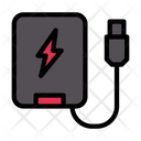 Powerbank Charger Usb Icon