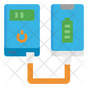Powerbank Charger Battery Icon