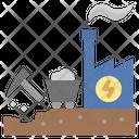 Powerhouse Mining Industry Icon