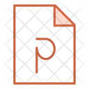 Powerpoint file Icon