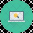 Online Business Work Icon