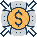 Ppc Click Dollar Icon