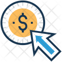Ppc Click Dollar Icon