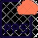 Pps Cloud File Cloud File File Icon