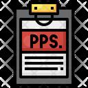 Pps Document Icon