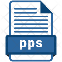 Pps File Formats Icon