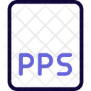 Pps File Pps Document Pps Icon