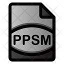 Ppsm File Icon