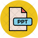 Ppt File Type Icon
