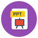 Ppt File Ppt Folder Ppt Document Icon