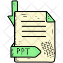 Ppt Document Format Icon