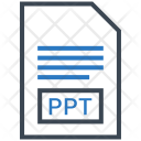 Ppt Document File Icon
