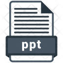 Ppt File Formats Icon