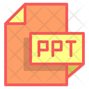 Ppt File Format File Icon