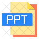 Ppt File File Type Icon