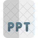Ppt File Ppt Ppt Document Icon