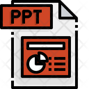 Ppt File Ppt File Format Icon