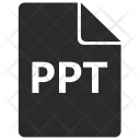 Ppt File Format Icon