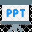 Ppt Presentation Ppt Presentation Slide Icon