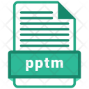 Pptm file Icon