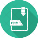Pptm File Icon