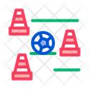 Soccer Doodle Ball Icon