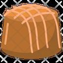 Caramel Praline Chocolate Praline Dessert Icon