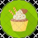 Praline Cupcake Icon
