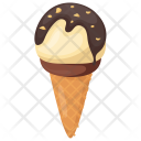 Praline Cone Chocolate Icon