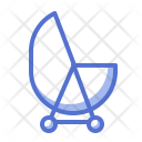 Rolling Bed Baby Icon