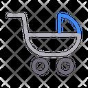 Pram Buggy Baby Icon
